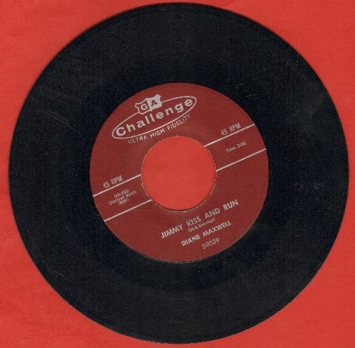 Maxwell, Diane - Jimmy Kiss And Run/Date Bait - NM9/ - 45 rpm Records