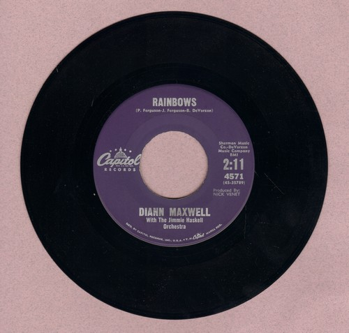 Maxwell, Diane - Rainbows/I'm The One Who Loves You (MINT condition) - M10/ - 45 rpm Records