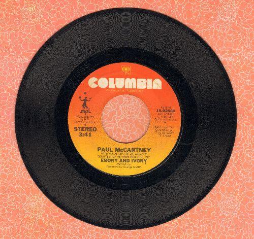 McCartney, Paul & Stevie Wonder - Ebony & Ivory/Rainclouds - EX8/ - 45 rpm Records