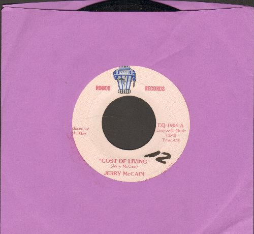 McCain, Jerry - Cost Of Living/Blues On The Move (wol) - VG7/ - 45 rpm Records