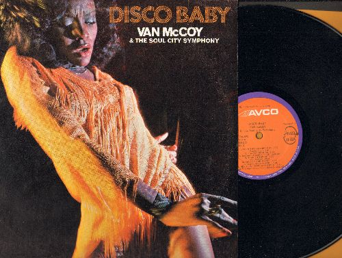 McCoy, Van - Disco Baby: The Hustle, Turn This Mother Out, Fire, Get Dancin', Doctor's Orders (vinyl STEREO LP record, NICE condition!) - M10/NM9 - LP Records