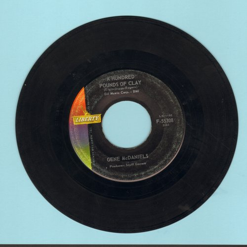 McDaniels, Gene - A Hundred Pounds Of Clay/Take A Chance On Love - VG7/ - 45 rpm Records