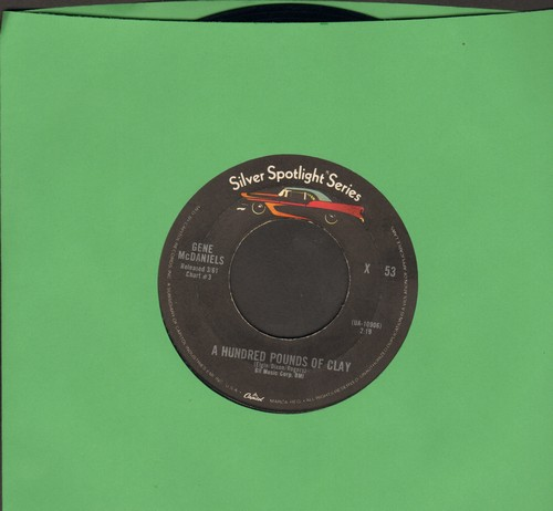 McDaniels, Gene - A Hundred Pounds Of Clay/Tower Of Strength (early re-issue) - EX8/ - 45 rpm Records