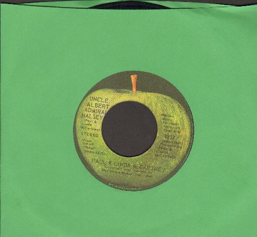McCartney, Paul & Linda - Uncle Albert/Admiral Halsey/Too Many People  - EX8/ - 45 rpm Records