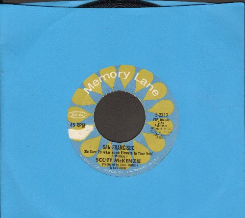 McKenzie, Scott - San Francisco/Like An Old Time Movie (double-hit re-issue) - EX8/ - 45 rpm Records