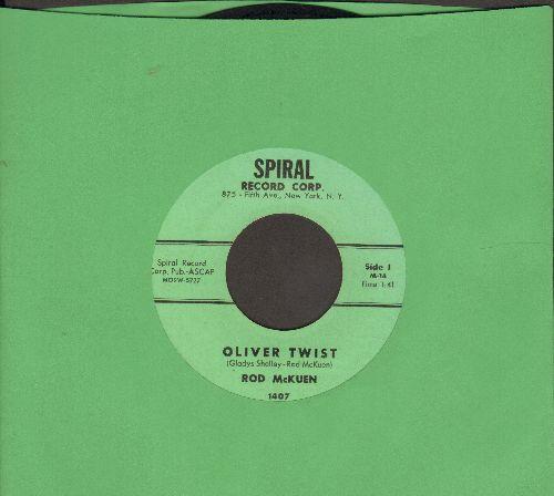 McKuen, Rod - Oliver Twist/Celebrity Twist  - NM9/ - 45 rpm Records