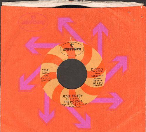 McCoys - Jesse Brady/Resurrection (with Mercury company sleeve) - NM9/ - 45 rpm Records