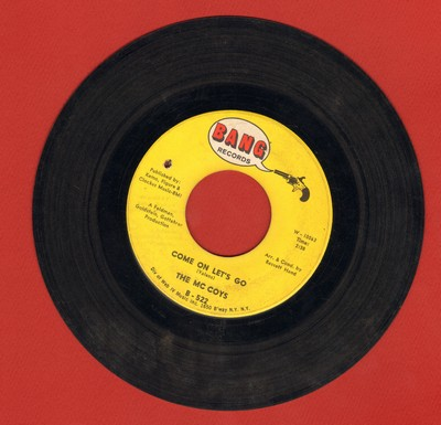 McCoys - Come On Let's Go/Little People (bb, wol) - VG7/ - 45 rpm Records