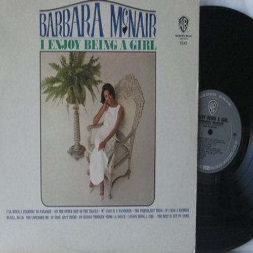 McNair, Barbara - I Enjoy Being A Girl: If I Had A Hammer, Hi-Lili Hi-Lo, Irma La Douce, The Best Is Yet To Come (vinyl MONO LP record) - NM9/EX8 - LP Records