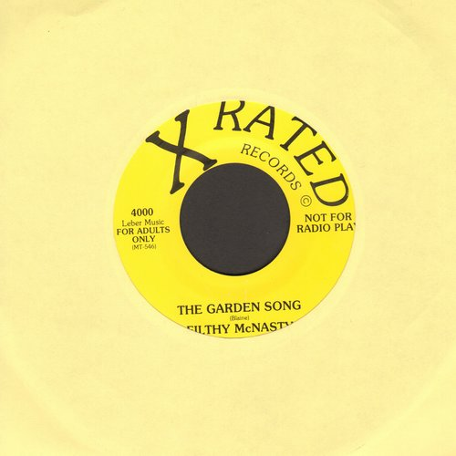 McNasty, Filthy - The Garden Song (Risque humor!) (with juke box label) - NM9/ - 45 rpm Records