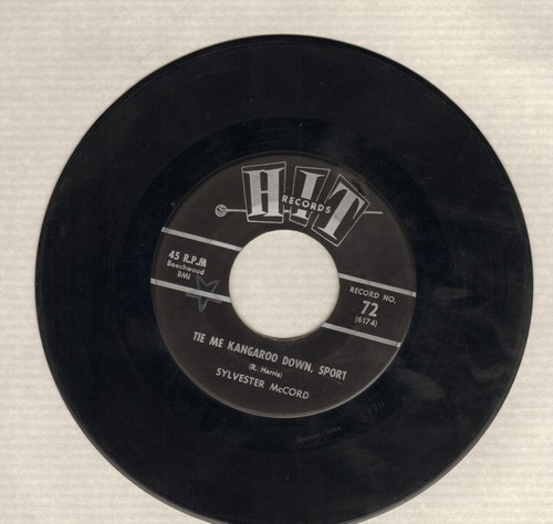 McCord, Sylvester - Tie Me Kangaroo Down, Sport/Memphis (by Music City Five on flip-side) (contemporary cover version sof hit songs) - EX8/ - 45 rpm Records