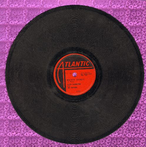 McPhatter, Clyde & The Drifters - Money Money/The Way I Feel (10 inch 78 rpm record) - VG7/ - 78 rpm
