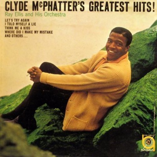 McPhatter, Clyde - Clyde McPhatter's Greatest Hits!: Think Me A Kiss, The Masquerade Is Over, Twice As Nice, This Is Not Goodbye (vinyl MONO LP record, NICE condition!) - M10/NM9 - LP Records