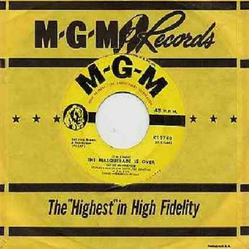 McPhatter, Clyde - The Masquerade Is Over/I Told Myself A Lie (with MGM company sleeve) - EX8/ - 45 rpm Records