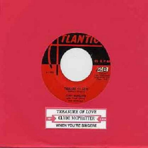 McPhatter, Clyde - Treasure Of Love/When You're Sincere - VG7/ - 45 rpm Records