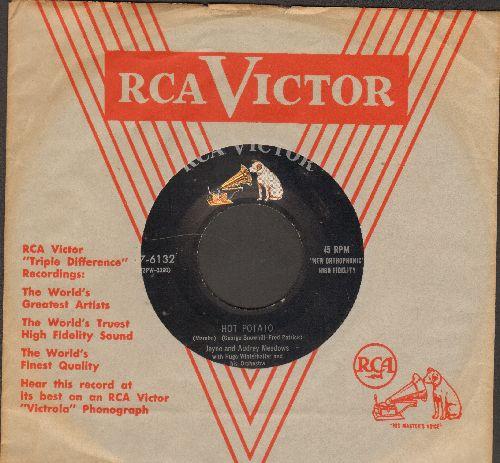 Meadows, Jayne & Audrey - Hot Potato/Japanese Rhumba - NM9/ - 45 rpm Records