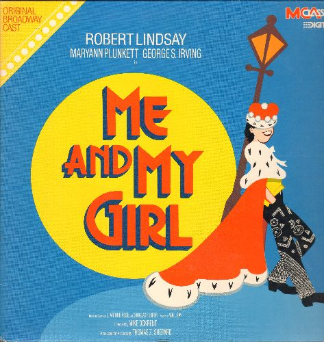 Me And My Girl - Me And My Girl - Original Broadway Cast Recording (vinyl DIGITAL LP record, gate-fold cover) - NM9/EX8 - LP Records