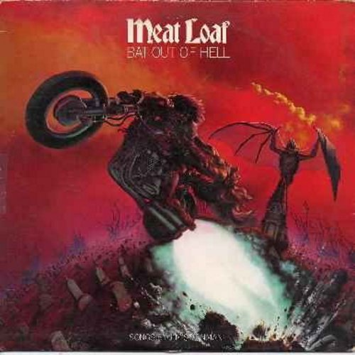 Meat Loaf - Bat Out Of Hell: Two Out Of Three Ain't Bad, Paradise By The Dashboard Light, Heaven Can Wait, You Took The Words Right Out Of My Mouth (vinyl STEREO LP record) - EX8/VG7 - LP Records