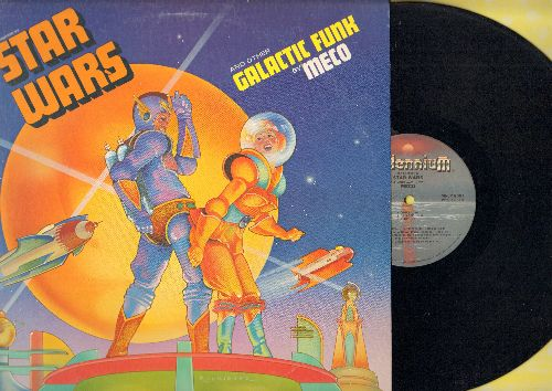 Meco - Star Wars And Other Galactic Funk: Cantina Band, Imperial Attack, Princess Leia's Theme (vinyl STEREO LP record) - NM9/EX8 - LP Records