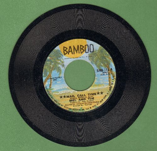Mel & Tim - Mail Call Time/Forget It I've Got It - NM9/ - 45 rpm Records