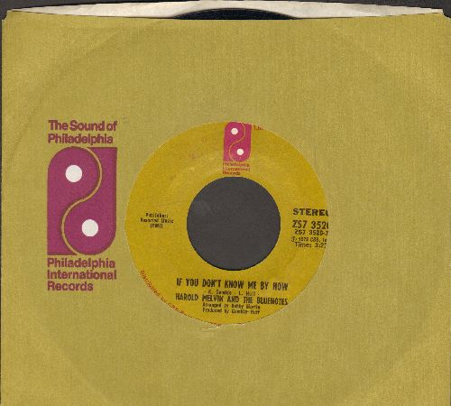 Melvin, Harold & The Bluenotes - If You Don't Know Me By Now/Let Me Into Your World (MELLOW-SOUL 2-sider!) (with company sleeve) - NM9/ - 45 rpm Records