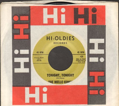 Mello Kings - Tonite Tonite/Chip, Chip (double-hit re-issue with company sleeve) - NM9/ - 45 rpm Records