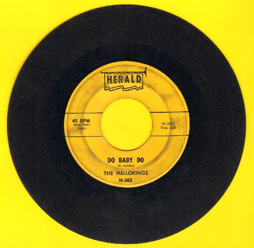 Mello-Kings - Do Baby Do/Tonite Tonite (sol) - VG6/ - 45 rpm Records