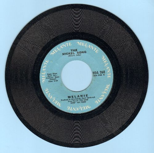 Melanie - What Have They Done To My Song/The Nickel Song - NM9/ - 45 rpm Records