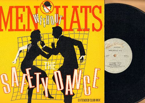 Men Without Hats - The Safety Dance/Antarctica (12 inch vinyl Maxi Single featuring Extended Club Mix of Hit with picture cover) - NM9/NM9 - Maxi Singles