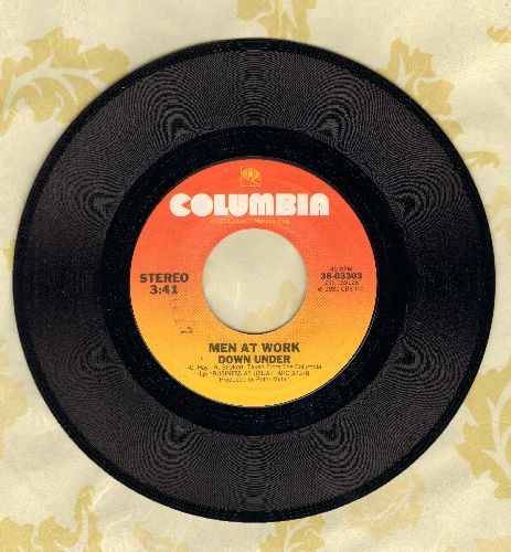 Men At Work - Down Under/Crazy - EX8/ - 45 rpm Records