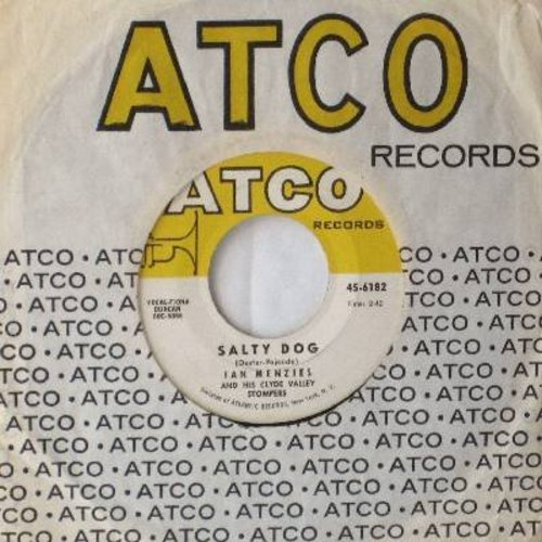 Menzies, Ian & His Clyde Valley Stompers - Salty Dog/The Fish Man (with vintage Atco company sleeve) - EX8/ - 45 rpm Records