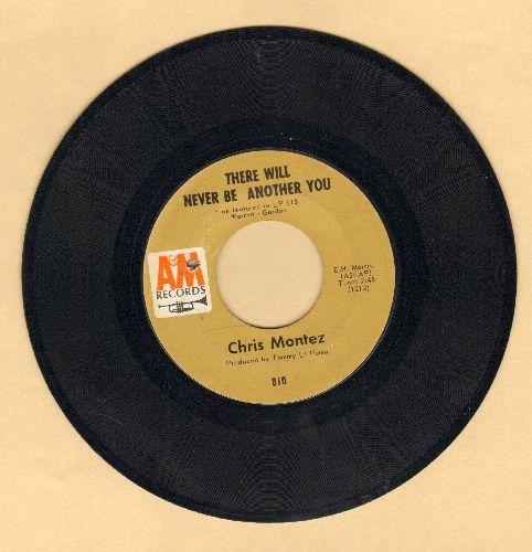 Montez, Chris - There Will Never Be Another You/You Can Hurt The One You Love (bb) - VG7/ - 45 rpm Records