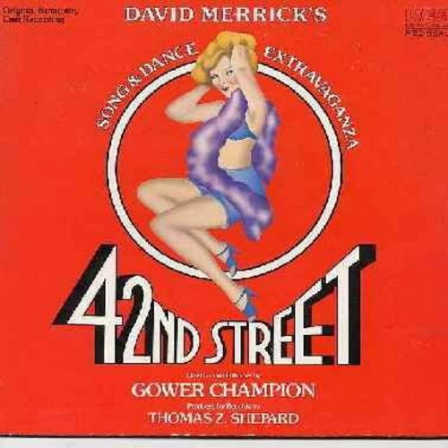 42nd Street - 42nd Street - Original Broadway Cast Recording (vinyl STEREO LP record, gate-fold cover) - NM9/EX8 - LP Records