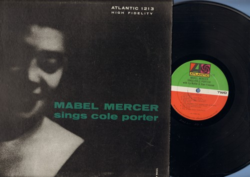Mercer, Mabel - Mabel Mercer Sings Cole Porter: It's Delovely, So In Love, Use Your Imagination, Ace In The Hole (vinyl MONO LP record) - NM9/NM9 - LP Records