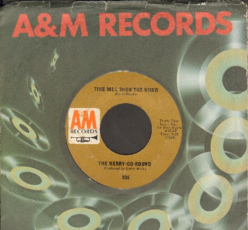 Merry-Go-Round - Time Will Show The Wiser/Live (with A&M company sleeve) - EX8/ - 45 rpm Records