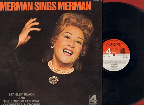 Merman, Ethel - Merman Sings Merman: You're The Top, I Got Rhythm, Eadie Was A Lady, There's No Business Like Showbusiness, Blow Gabriel Blow (vinyl STEREO LP record, gate-fold cover) - EX8/VG7 - LP Records