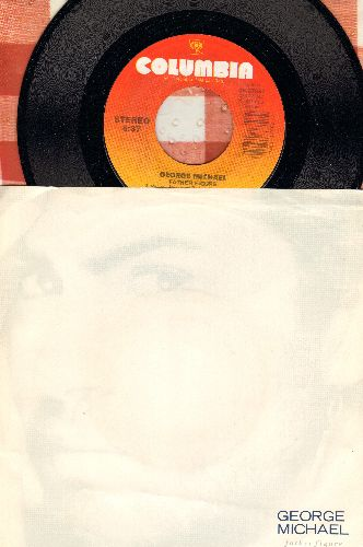 Michael, George - Father Figure/Father Figure (Instrumental) (with picture sleeve) - EX8/VG7 - 45 rpm Records
