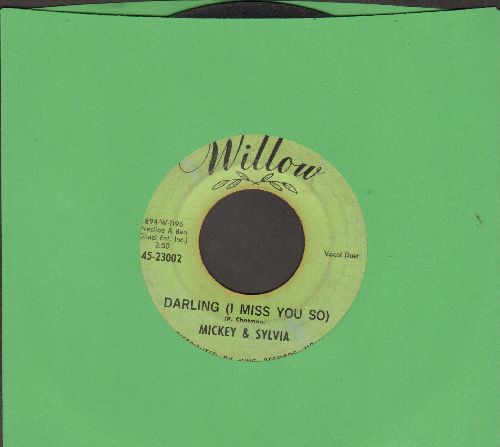 Mickey & Sylvia - Darling (I Miss You So)/I'm Guilty - VG7/ - 45 rpm Records