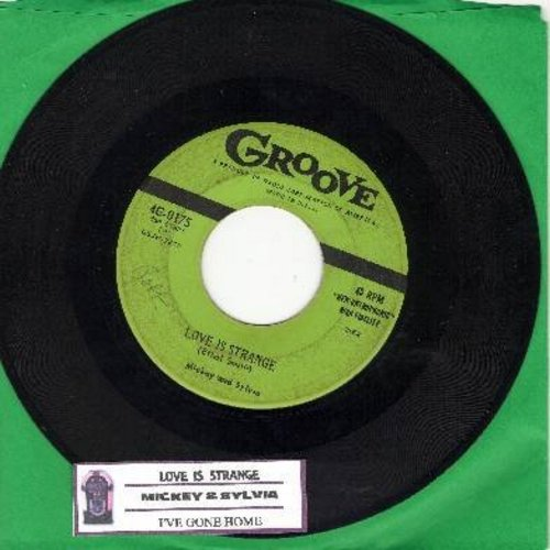 Mickey & Sylvia - Love Is Strange/I'm Going Home (first pressing with juke box label) - VG7/ - 45 rpm Records