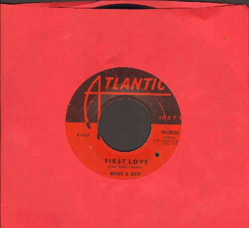 Mickey & Kitty - First Love/St. Louis Blues (bb) - VG7/ - 45 rpm Records