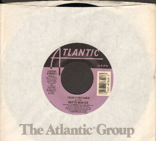 Midler, Bette - From A Distance/One More Round (with Atlantic company sleeve) - NM9/ - 45 rpm Records