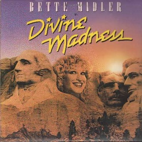 Midler, Bette - Divine Madness - Original Sound Track: My Mother's Eyes, Chapel Of Love/Boogie Woogie Bugle Boy, Big Noise From Winnetka (vinyl STEREO LP record) - NM9/EX8 - LP Records