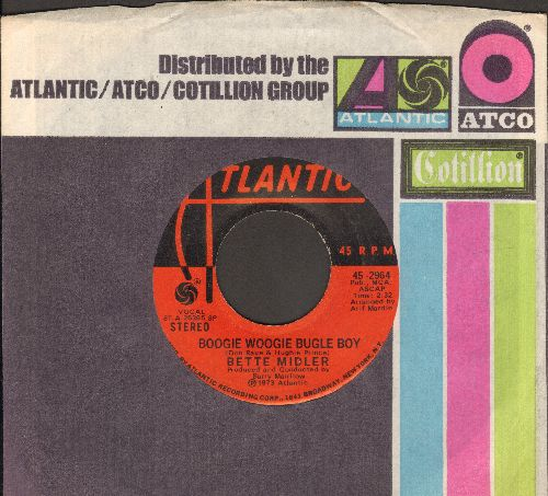 Midler, Bette - Boogie Woogie Bugle Boy/Delta Dawn (with Atlantic company sleeve) - VG7/ - 45 rpm Records