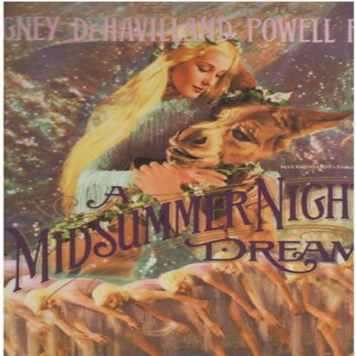 A Midsummer Night's Dream - A Midsummer Night's Dream - Set of 2 LASER DISC VERSIONS in gate-fold cover. The 1934 Hollywood Fantasy Classic about the Shakespeare Play (This is in LASER DISC VERSION format, NOT any other kind of media!) - NM9/NM9 - Laser D