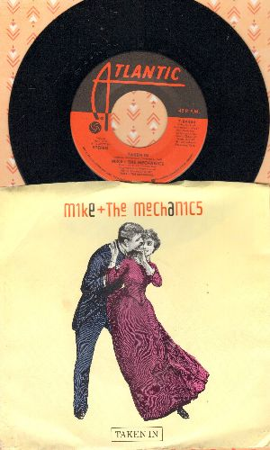Mike & The Mechanics - Taken In/A Call To Arms (with picture sleeve) - NM9/EX8 - 45 rpm Records