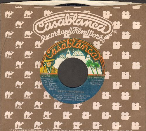 Miles, Buddy - Nasty Disposition (double-A-sided DJ advance pressing with Casablanca company sleeve) - NM9/ - 45 rpm Records