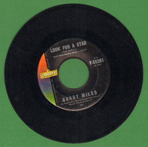 Miles, Garry - Look For A Star (Love Theme from film -Circus Of Horrors-)/Afraid Of Love - EX8/ - 45 rpm Records