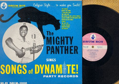 Mighty Panther - Songs Of Dynamite!: Big Bamboo, Bila Merengue, Jamaica Where The Rum Comes From, Bahama Mama, Havanagila (vinyl MONO LP record) - NM9/NM9 - LP Records