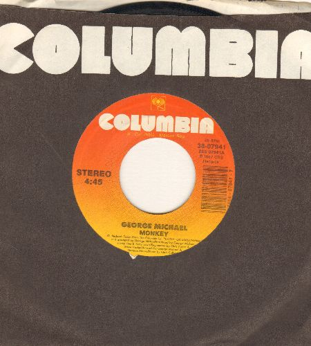 Michael, George - Monkey/Monkey (Acappella) (with Columbia company sleeve) - EX8/ - 45 rpm Records