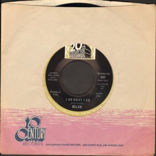 Milan - I Am What I Am (Who Am I)/Over And Over Again - M10/ - 45 rpm Records